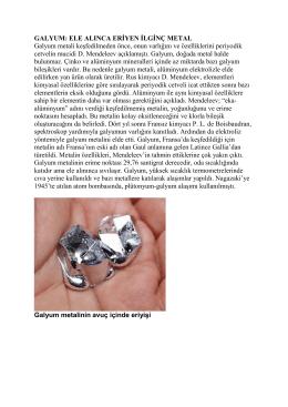 GALYUM - Prof. Dr. Ural Akbulut