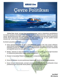ARKAS Line DG INFO