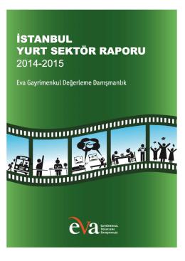 İstanbul Yurt Sektör Raporu 2014-2015