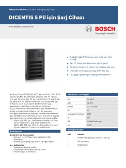 DICENTIS 5 Pil için Şarj Cihazı