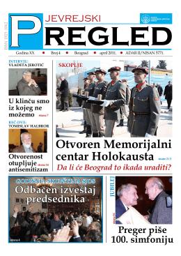 Jevrejski pregled br. 04 / april 2011