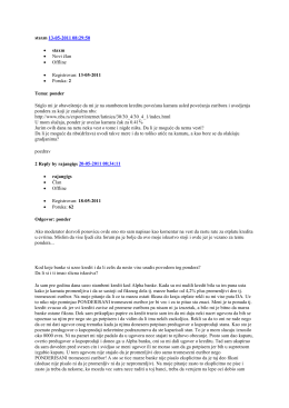 staxm 13-05-2011 08:29:50 • staxm • Novi član • Offline