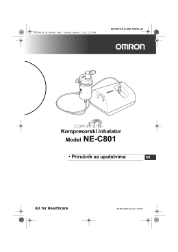 Model NE-C801 - Omron Healthcare