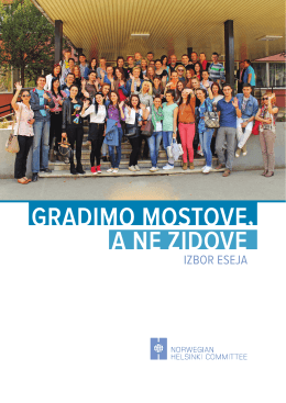 Gradimo mostove, a ne zidove - Index of
