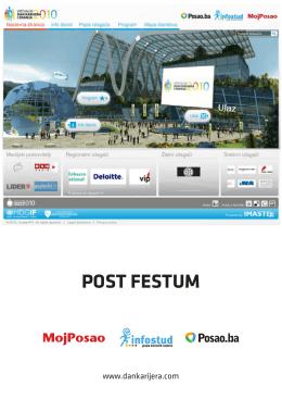 POST FESTUM - Virtualni dan karijera i znanja
