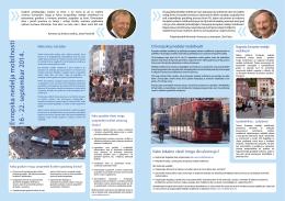 Evropska nedelja mobilnosti 16