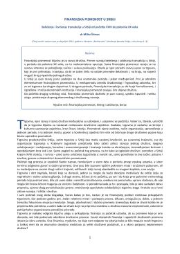 FINANSIJSKA PISMENOST U SRBIJI - Komisija za hartije od vrednosti
