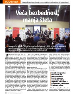 Svet bezbednosti-Konferencija SAMKB 2014