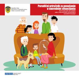 Porodični priručnik za ponašanje u vanrednim situacijama