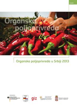 Organska poljoprivreda u Srbiji 2013