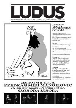 ludus189-190 - Udruženje dramskih umetnika Srbije