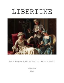 Libertine - crnogorska alternativna kultura