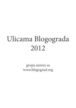 - Blogograd