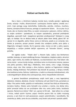 Danilo kiš – esej