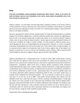 komentar urednistva - Beda.pdf - Centar za socijalna istraživanja