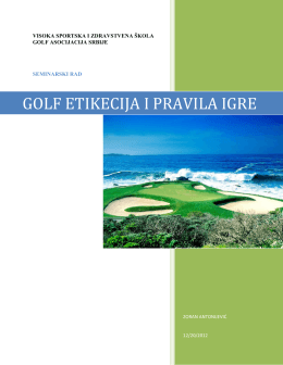 (PDF, 187KB) - Golf asocijacija Srbije