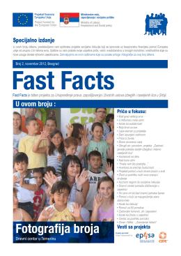 Fast Facts - Opština Pećinci