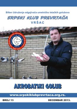 Bilten broj 13 - Srpski klub prevrtača