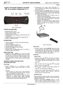 Instalatersko uputstvo LogiTV RF-IR-MK-5u1.pdf