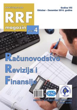 RRF magazin broj 4 - Institut Računovođa i Revizora Crne Gore