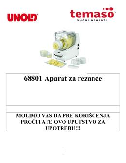 68801 Aparat za rezance