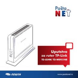 Uputstvo za ADSL ruter TP-LINK
