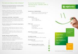 OVDE - OTP Banka