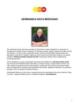 GERMANSKA NOVA MEDICINA®