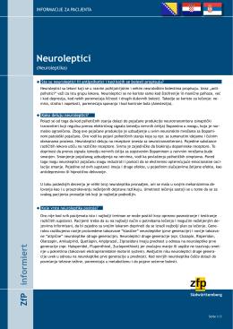 Neuroleptici - ZfP Südwürttemberg