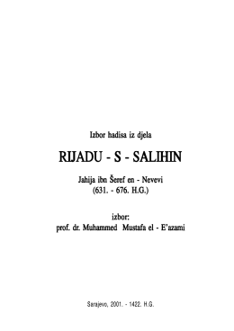 Rijadus tekst.p65 - Islamic Invitation