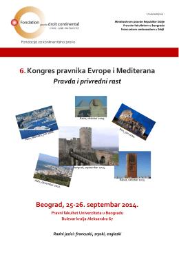 6. Kongres pravnika Evrope i Mediterana