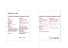 detailed package insert, in Serbian, PDF