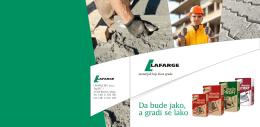 Priručnik za upotrebu pakovanog cementa