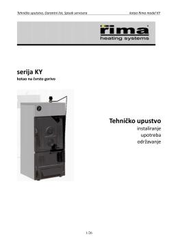serija KY Tehničko upustvo
