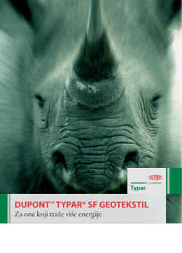 DUPONTTM TYPAR® SF GEOTEKSTIL
