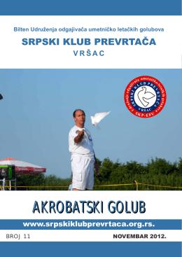 Bilten broj 11 - Srpski klub prevrtača