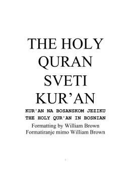 sura 3. ali