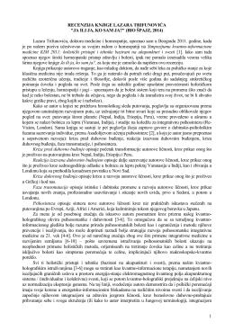 recenzija knjige lazara trifunovića