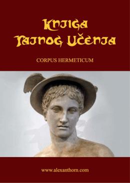 Corpus Hermeticum - Svetlost Balkana Loža Svetlost Balkana