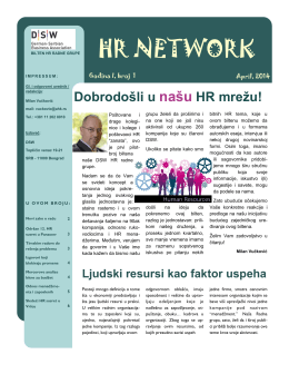 HR Newsletter 01/2014