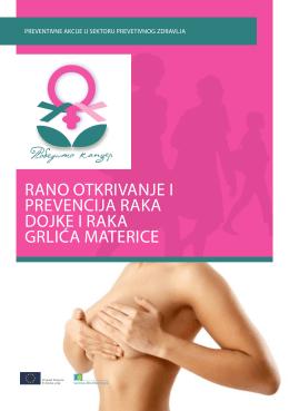 rano otkrivanje i prevencija raka dojke i raka grlića materice
