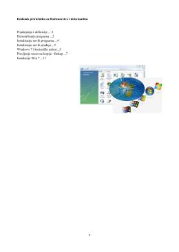 Dodatak pr Pojašnjenja Deinstaliran Instaliranje