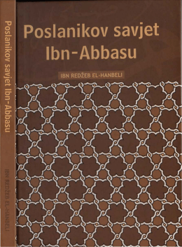 poslanikov savjet ibn-abbasu