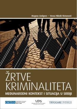 Žrtve kriminaliteta, međunarodni kontekst i situacija u Srbiji