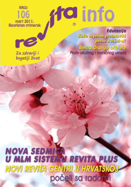 REVITA Info broj 106 (.pdf)