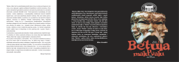 BETULA afish 2014 - Centar za kulturu Tivat