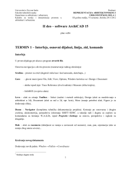 pdf - Departman za arhitekturu i urbanizam