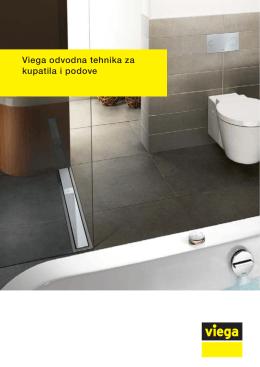 Viega odvodna tehnika za kupatila i podove
