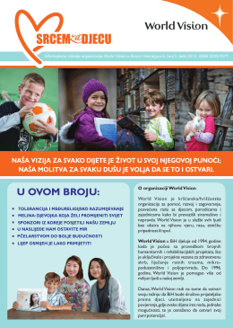 Srcem za djecu - World Vision International