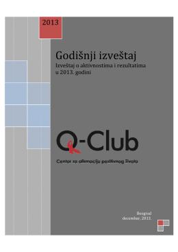 Godišnji izveštaj - Q-club